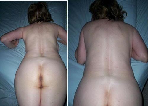 Nude mature small waist