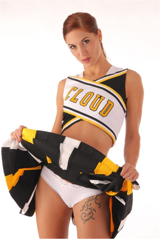 cheerleader naked Literotica