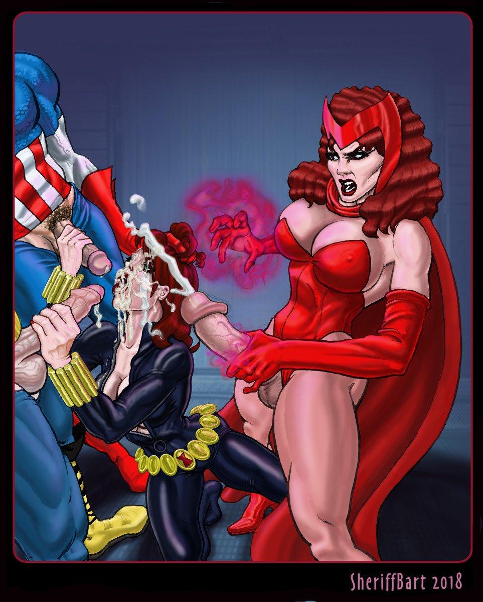 Avengers porno Comics